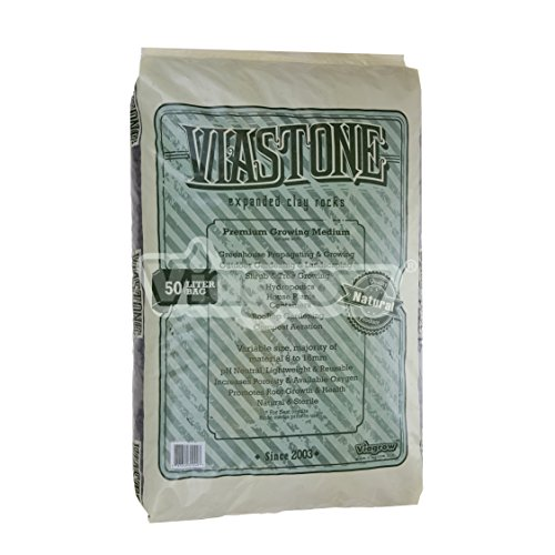 Clay Grow Rocks (Viagrow™ ViaStone Expanded Clay Grow Rocks, 50 liter)