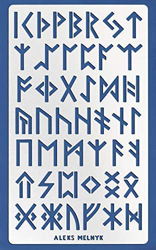 Aleks Melnyk #35 Metal Journal Stencil/Runes, Ancient Alphabet/Stainless  Steel Stencil 1 PCS/Template Tool for Wood Burning, Pyrography and