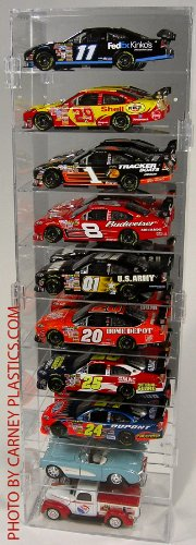 Diecast Display Case 1:24 Scale 10 car ()