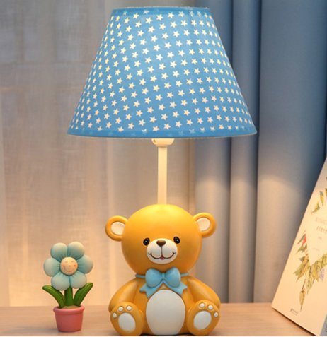 New Animal Catoon Night Light Table Desk Optical Illusion Lamps Lights LED Table Lamp Xmas Home Love Brithday Children Kids Baby Decor Toy Christmas Gift (bear)