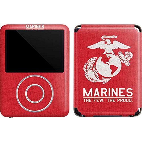 Marines iPod Nano (3rd Gen) 4GB&8GB Skin - Black Full US Marine Corps | Military X Skinit Skin ()
