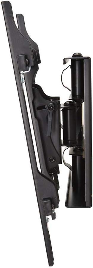 75 pouces DQ Reach M 80 cm Support mural pour t/él/éviseur Noir enti/èrement articul/é//rotatif//orientable//inclinable T/él/éviseur env VESA 100 x 100 200 x 200 400 x 400 mm : 42