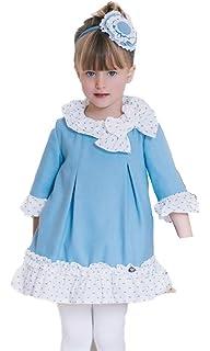 63d8fc7b4 DOLCE PETIT - Vestido NAVIDEÑO NIÑA niñas Color: Marino Talla: 10 ...