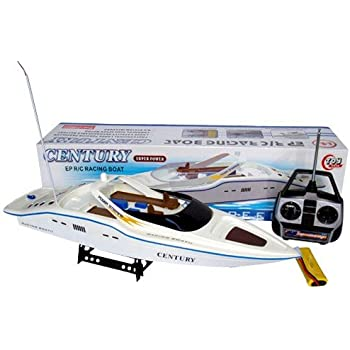 "30"" RC SYMA Century Boat Radio Remote Control R/C Racing Yacht with Display Stand"