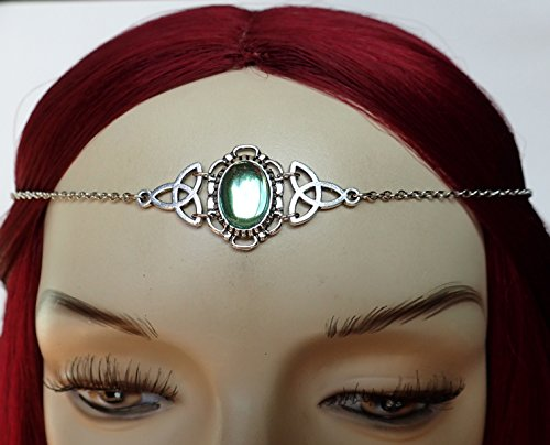 Light Green Peridot Celtic Triquetra Tri - Sca Medieval Costume Shopping Results