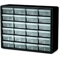Akro-Mils 10124 24 Drawer Plastic Parts Storage Hardware...