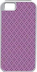 Blueberry Design iPhone 5 5S Case Cover Purple Background Black Illustrations