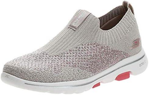 SKECHERS GO WALK 5 Womens Shoes, Grey