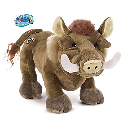 Webkinz Plush Stuffed Animal Warthog by Ganz