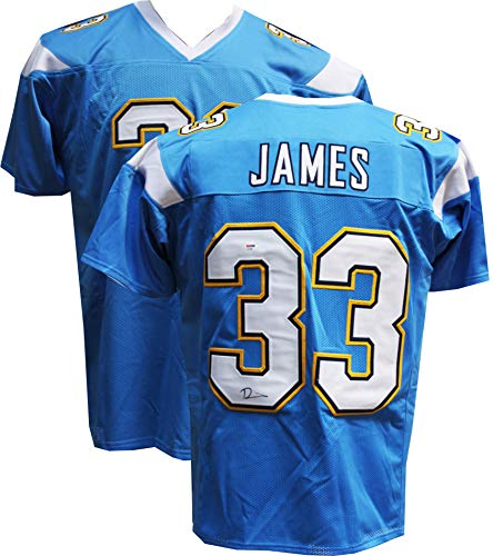 (Authentic Derwin James Autographed Signed Jersey (PSA COA) Los Angeles Chargers)