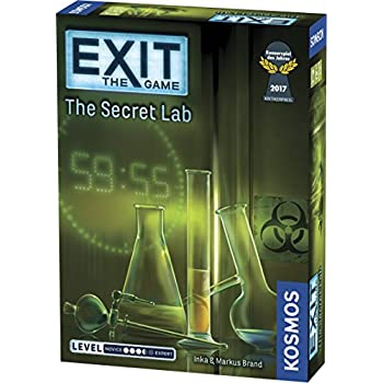 Thames & Kosmos Exit: The Secret Lab Game