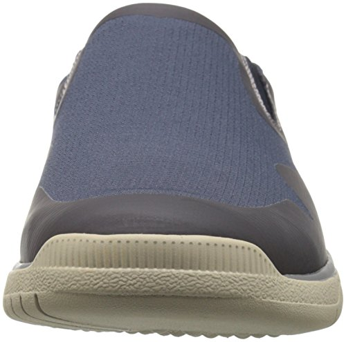 Clarks Hombres Votta Free Slip-on Loafer Azul Marino Sintético / Taupe