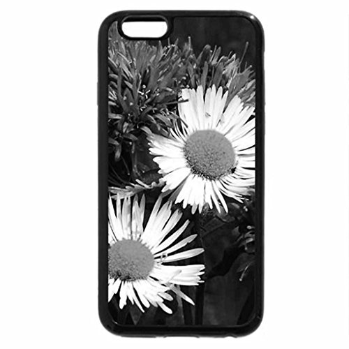 iPhone 6S Case, iPhone 6 Case (Black & White) - Wildflowers