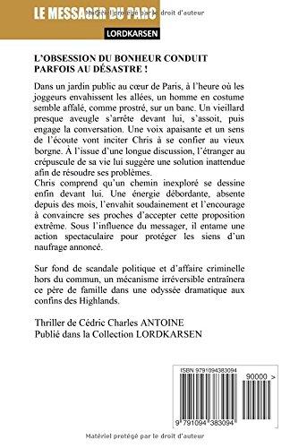 Le Messager du parc (French Edition): Cedric Charles Antoine: 9791094383094: Amazon.com: Books