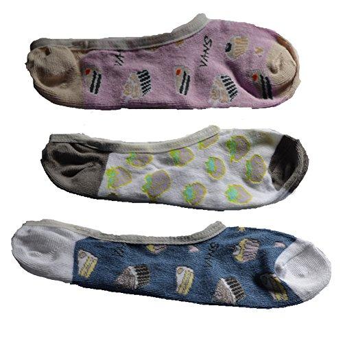 Vans Women's No Show Socks (Girls Shoe