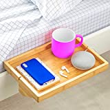 BedShelfie The Original Bedside Shelf - 9 Colors / 4 Sizes - AS SEEN ON Business Insider (Regular Size, Natural)