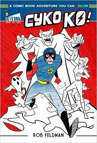 Amazon.com: Cyko KO: A Comic Book Adventure You Can Color ...