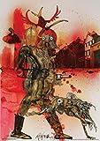 Ralph Steadman Hell Hound Fahrenheit 451 Poster Rolled 34 x 24  PSA009890