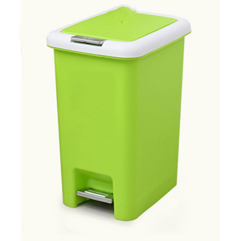 Tapón de Basura plástico Cuadrado Pedal de clasificación de ...