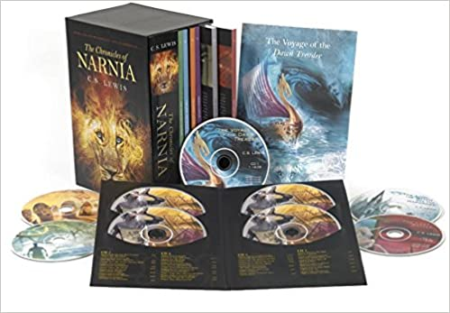 Amazon.com: The Chronicles of Narnia 7-Book and Audio Box ...