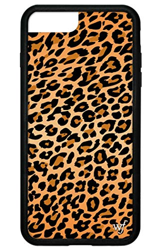 Wildflower Limited Edition iPhone Case for iPhone 6 Plus, 7 Plus, or 8 Plus (Leopard Print)