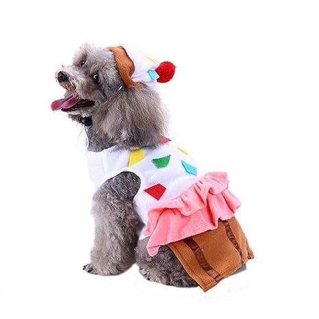 TYJY Ropa para Perros De Navidad Y Halloween Vestido Mascota ...