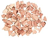 Mixed Rose Stained Glass Cobbles-2.5 ounces