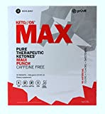 KETO//OS MAX Maui Punch- No Caffeine, Provides Sharp Energy Boost, Promotes Weight Loss and Burn Fats through Ketosis, 20 Sachets
