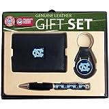 North Carolina Trifold Wallet Key Fob and Pen Gift Set