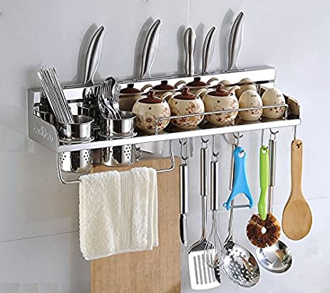 Amazon.com - Multipurpose Kitchen Utensils Holder Organizer 23.5 ...