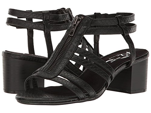 n's Mid Range Dress Sandal, Black Snake, 7.5 M US ()
