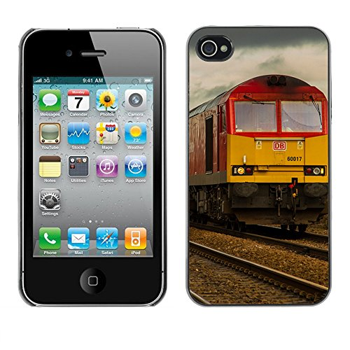 Premio Sottile Slim Cassa Custodia Case Cover Shell // F00007425 entrainer // Apple iPhone 4 4S 4G