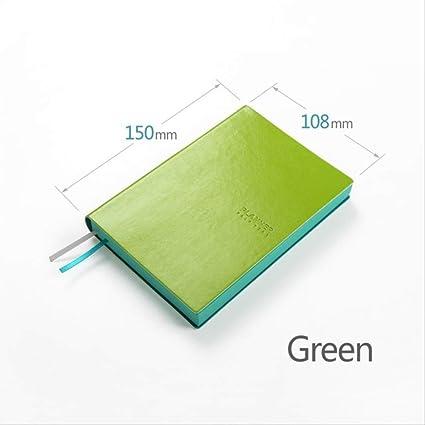 YNIME Cuaderno A6 Cuaderno diario diario diario agenda ...
