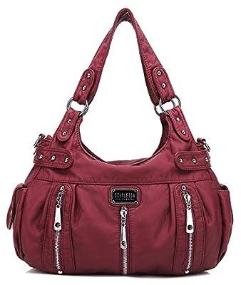Scarleton 3 Front Zipper Shoulder Bag H1292
