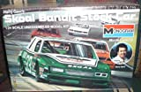 #2706 Monogram Harry Gant's Skoal Bandit Stock Car 1/24 Scale Plastic Model Kit,Needs Assembly