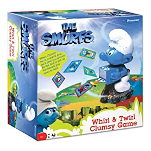 Smurfs Whirl And Twirl Clumsy Game