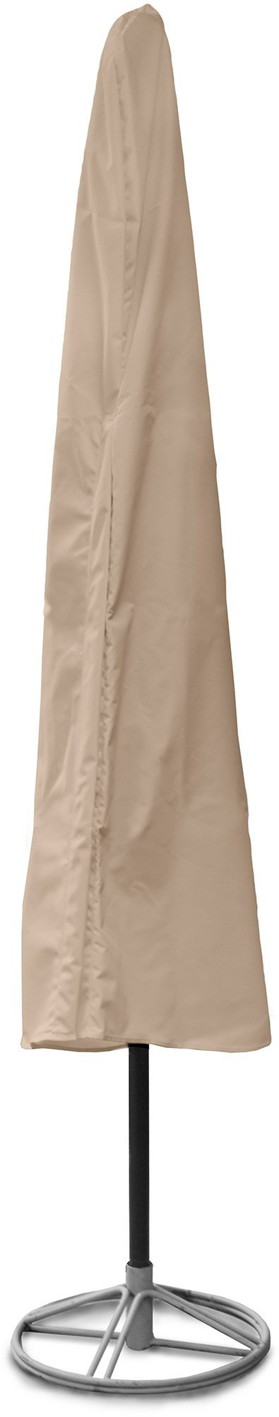 KoverRoos Weathermax 44282 11-Feet Umbrella Cover, 88-Inch Height by 48-Inch Circumference, Toast