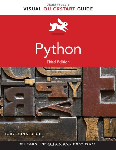 Book cover of Python: Visual QuickStart Guide (3rd Edition) by Toby Donaldson