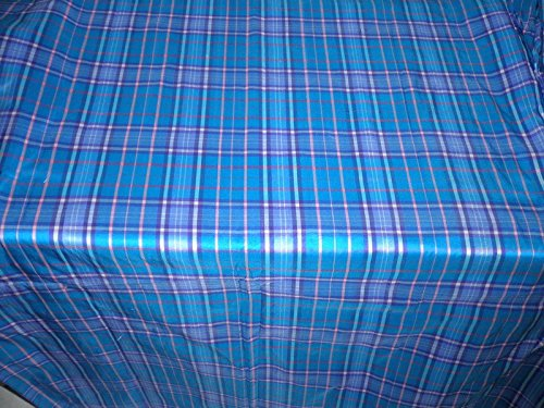 SILK DUPIONI scottish Campbell Ancient tartan plaid dup c 64 ()