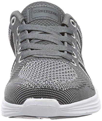 Kappa FENIX Footwear unisex - zapatilla deportiva de lona Unisex adulto gris - Grau (1611 grey/black)