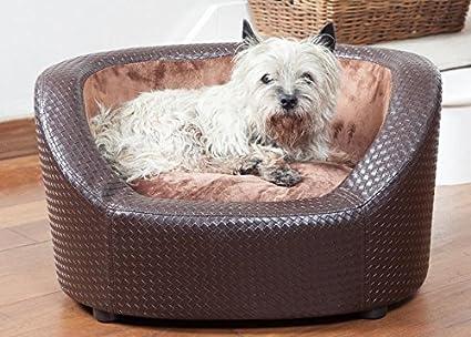 Funda elástica para sofá o cama de matrimonio de cama de perro de peluche / -