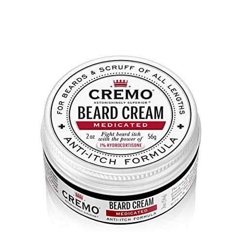 Cremo Beard Cream, Medicated Beard Formula, 2 oz