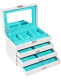 Amazoncom Jewelry Boxes Clothing Shoes Jewelry
