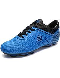 Dream pares 160860 Zapatos de Deporte flexible Athletic Lace Up Light Peso tacos de fútbol al aire última intervensión...