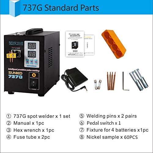 Sunkko 709A 110V 2 in 1 1.9kw Pulse Spot Welder Battery Welding Soldering Machine 60A Yae First Trading Co Itd