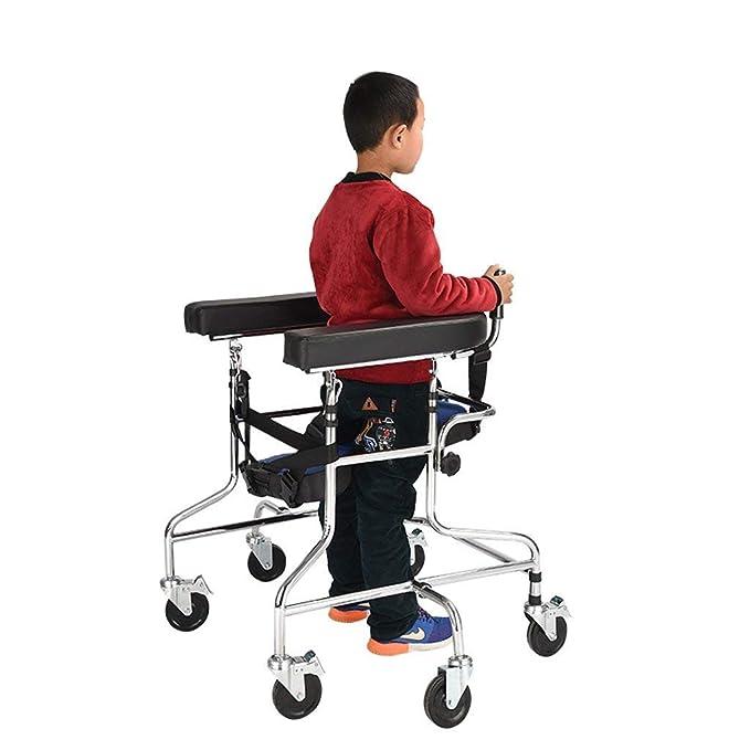 YX Andador plegable, bastidor de soporte para niños con soporte ...