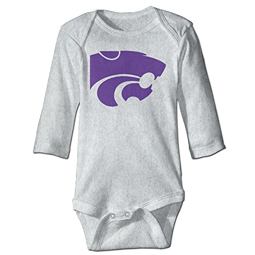 Price comparison product image OOKOO Baby's Kansas State University Bodysuits Ash 6 M