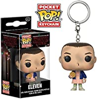 Stranger Things Llavero de Vinilo Eleven with Eggo, Multicolor (Funko 14227)