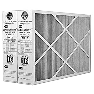 Heating, Cooling & Air Lennox Carbon Coated X6672 Healthy Climate MERV 16 Filter (2 Pack)