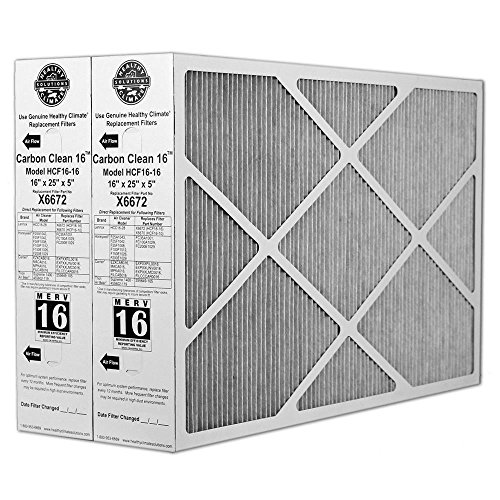 16x25x1 air filter natural aire - 3